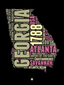 NAXART Studio - Georgia Word Cloud 1
