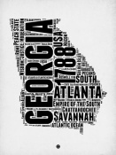 NAXART Studio - Georgia Word Cloud 2