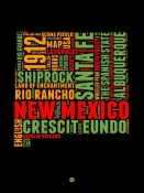 NAXART Studio - New Mexico Word Cloud 1