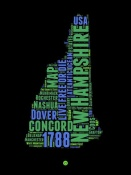 NAXART Studio - New Hampshire Word Cloud 1