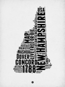 NAXART Studio - New Hampshire Word Cloud 2