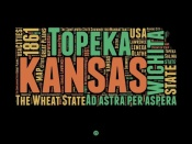 NAXART Studio - Kansas Word Cloud 1