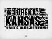NAXART Studio - Kansas Word Cloud 2
