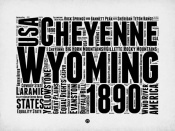 NAXART Studio - Wyoming Word Cloud 2