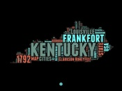 NAXART Studio - Kentucky Word Cloud 1
