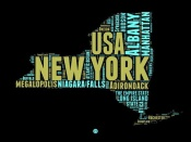 NAXART Studio - New York Word Cloud 1