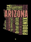 NAXART Studio - Arizona Word Cloud 1
