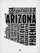 NAXART Studio - Arizona Word Cloud 2