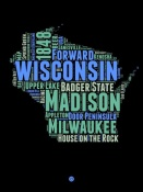NAXART Studio - Wisconsin Word Cloud 1