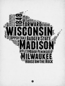 NAXART Studio - Wisconsin Word Cloud 2
