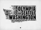 NAXART Studio - Washington Word Cloud 2