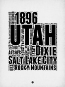 NAXART Studio - Utah Word Cloud 2