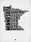 NAXART Studio - Minnesota Word Cloud 2