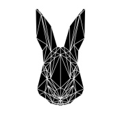 NAXART Studio - Black Rabbit