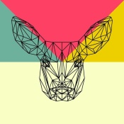 NAXART Studio - Baby Deer Polygon