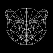 NAXART Studio - Bear Polygon