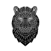 NAXART Studio - Black Tiger Head