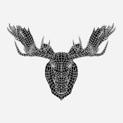 NAXART Studio - Moose Head Mesh