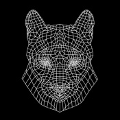 NAXART Studio - Mountain Lion Black Mesh