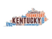 NAXART Studio - Kentucky Word Cloud Map