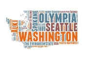 NAXART Studio - Washington Word Cloud Map