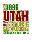 NAXART Studio - Utah Word Cloud Map