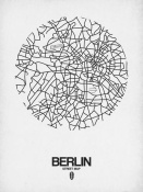 NAXART Studio - Berlin Street Map White