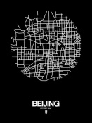 NAXART Studio - Beijing Street Map Black