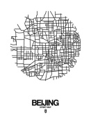 NAXART Studio - Beijing Street Map White