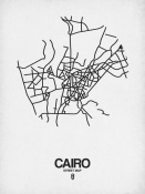 NAXART Studio - Cairo Street Map White