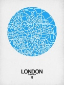 NAXART Studio - London Street Map Blue