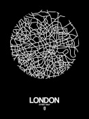 NAXART Studio - London Street Map Black