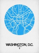 NAXART Studio - Washington,D.C. Street Map Blue