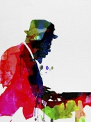 NAXART Studio - Thelonious Watercolor