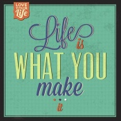 NAXART Studio - Life Is What You Make It