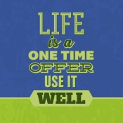 NAXART Studio - Life Is A One Time Offer 1