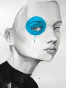 NAXART Studio - Blue Dot