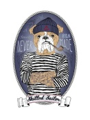 NAXART Studio - Bulldog Sailor With Tattoo