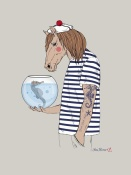 NAXART Studio - Horse Sailor