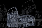 NAXART Studio - Colosseum Night