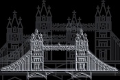NAXART Studio - London Bridge Night