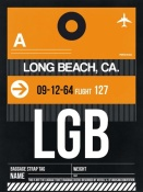 NAXART Studio - LGB Long Beach Luggage Tag II