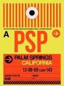 NAXART Studio - PSP Palm Springs Luggage Tag I