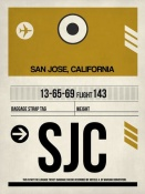 NAXART Studio - SJC San Jose Luggage Tag I