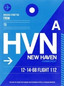 NAXART Studio - HVN New Haven Luggage Tag II