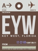 NAXART Studio - EYW Key West Luggage Tag II