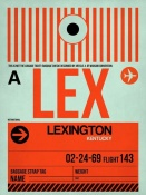 NAXART Studio - LEX Lexington Luggage Tag I
