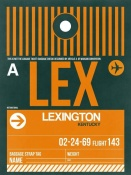 NAXART Studio - LEX Lexington Luggage Tag II