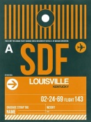 NAXART Studio - SDF Louisville Luggage Tag I