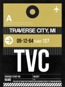 NAXART Studio - TVC Traverse City Luggage Tag II